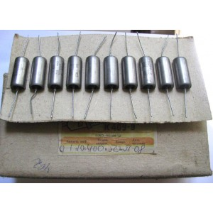 0.1uF 400V PIO Capacitors K40Y-9. Lot of 10 NEW RED COLOR