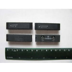 4x 1816VE Serie Russian Clones of Intel MCS-48/51 MCU