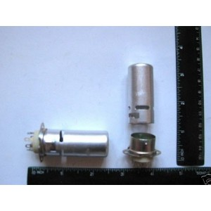 7-pin Tube Sockets 60mm Lot of 8 NEW
