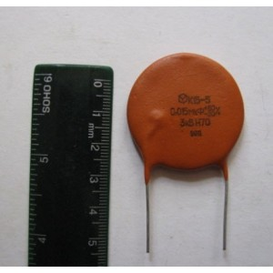0.015uf 3kV K15-5 Ceramic High Voltage Capacitors Lot of 20