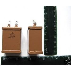 0.1uF 500V Silver Mica Capacitors KSG-2 . Lot 4 NEW
