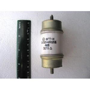 0.025uF 4kV teflon doorknob capacitors FGT-I Lot of 6