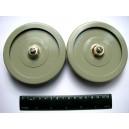 3300pF 4kV 60kVAR Doorknob Capacitor K15U1 Lot 4 NOS