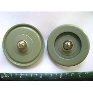 680pF 4kV 25kVAR Doorknob Capacitors K15Y-1 Lot 4 NOS