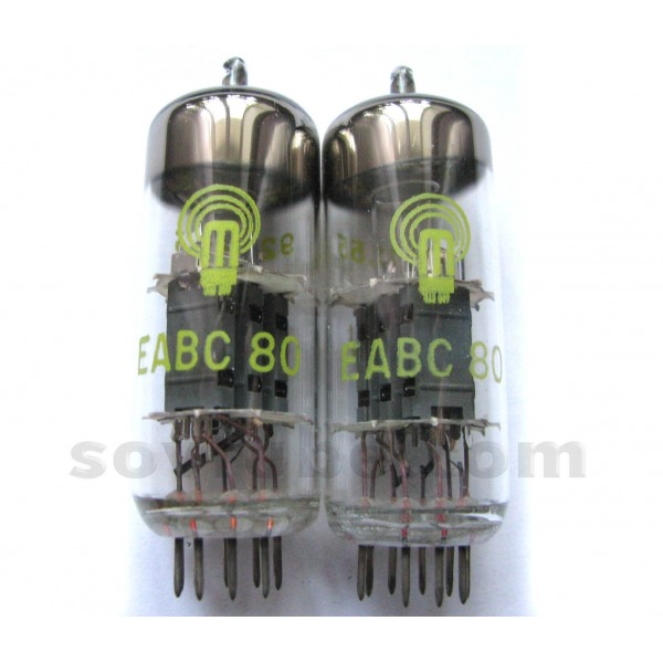 6t8, tube 6t8; röhre 6t8 id3910, triple diode-triode.