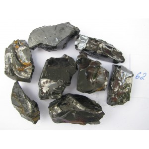 ELITE Noble Shungite Natural rough raw 150 gr fraction 5-10 Healing Water - RUSSIA